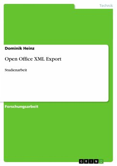 Open Office XML Export - Heinz, Dominik