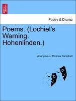 Poems. (Lochiel's Warning. Hohenlinden.) - Anonymous Campbell, Thomas