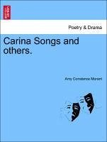 Carina Songs and others. - Morant, Amy Constance