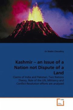 Kashmir - an Issue of a Nation not Dispute of a Land - Choudhry, Shabir