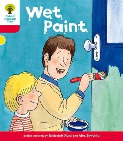 Oxford Reading Tree: Level 4: More Stories B: Wet Paint - Hunt, Roderick
