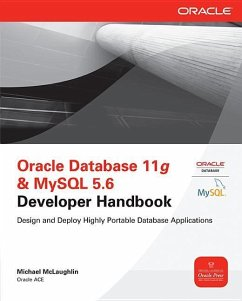 Oracle Database 11g & MySQL 5.6 Developer Handbook - McLaughlin, Michael