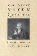The Great Haydn Quartets - Hans Keller