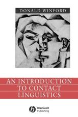 An Introduction to Contact Linguistics - Donald Winford