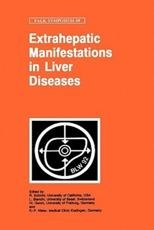 Extrahepatic Manifestations in Liver Diseases - Schmid, R./ Gerok, W./ Blanchi, L./ Maier, K. P. (EDT)