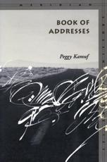 Book of Addresses - Peggy Kamuf