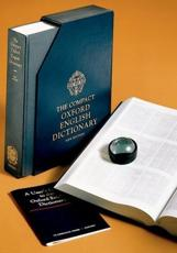 The Compact Oxford English Dictionary: v. 1-20 in 1v - Simpson, J. A. (EDT)/ Weiner, E. S. C. (EDT)