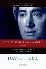 David Hume: A Treatise of Human Nature: Texts Volume 1 - Hume, David/ Norton, David Fate (EDT)/ Norton, Mary J. (EDT)