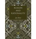 Reason and Rationality - Jon Elster