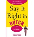 Say it Right in Dutch - Epls