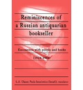 Reminiscences of a Russian Antiquarian Bookseller - Paula Israelewicz