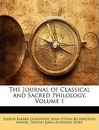 The Journal of Classical and Sacred Philology, Volume 1 - Joseph Barber Lightfoot