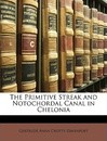 The Primitive Streak and Notochordal Canal in Chelonia - Gertrude Anna Crotty Davenport
