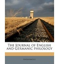 The Journal of English and Germanic Philolog, Volume 10 - Anonymous