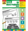 Daily Word Problems, Grade 1 Math - Jill Norris