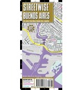 Streetwise Buenos Aires Map - Laminated City Center Street Map of Buenos Aires, Argentina - Streetwise Maps Inc
