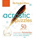 The New York Times Acrostic Puzzles, Volume 11 - The New York Times