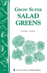 Grow Super Salad Greens: Storey's Country Wisdom Bulletin A-71 - Nancy Bubel