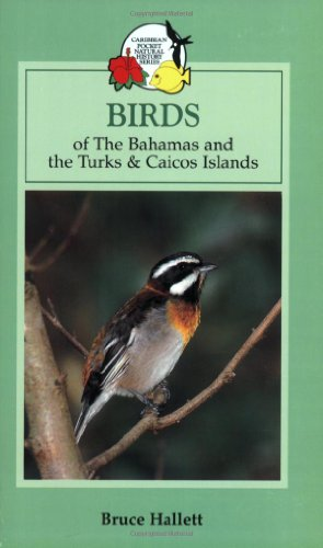 Birds of the Bahamas and the Turks and Caicos Islands (Caribbean Pocket Natural History) - Bruce Hallett