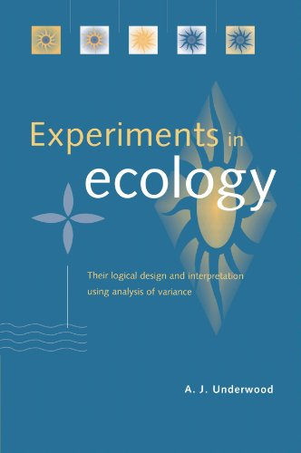 Experiments in Ecology: Their Logical Design and Interpretation Using Analysis of Variance - A. J. Underwood