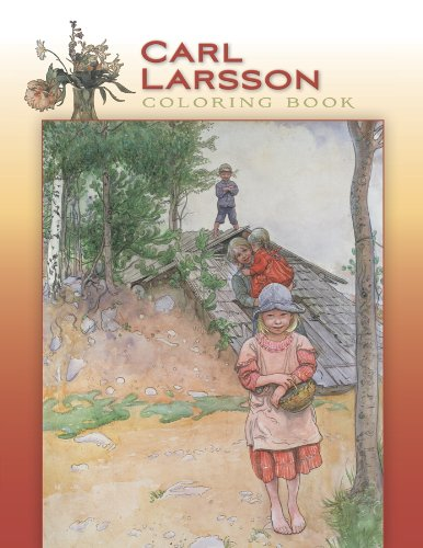Carl Larsson Coloring Book - Pomegranate