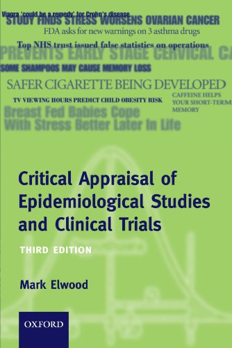 Critical Appraisal of Epidemiological Studies and Clinical Trials (Oxford Medical Publications) - Mark Elwood