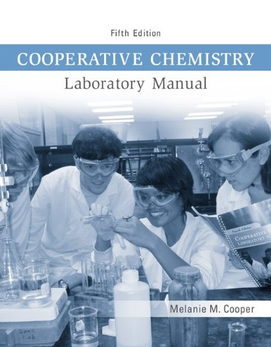 Cooperative Chemistry Lab Manual - Melanie Cooper