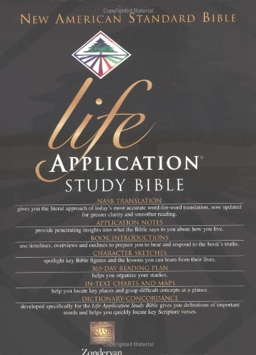 Life Application Study Bible, Indexed, NASB - Ronald A. Beers