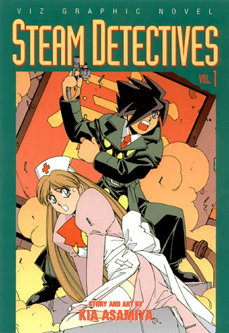 Steam Detectives, Vol. 1 - Kia Asamiya