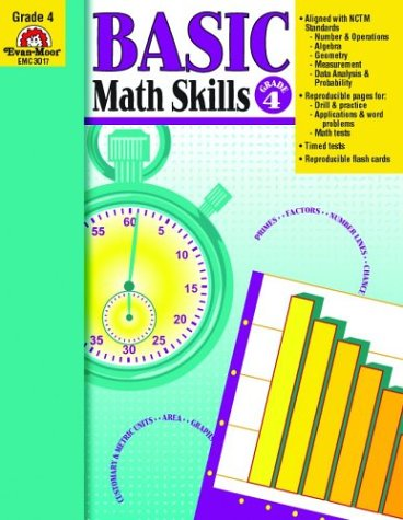 Basic Math Skills, Grade 4 - Evan Moor