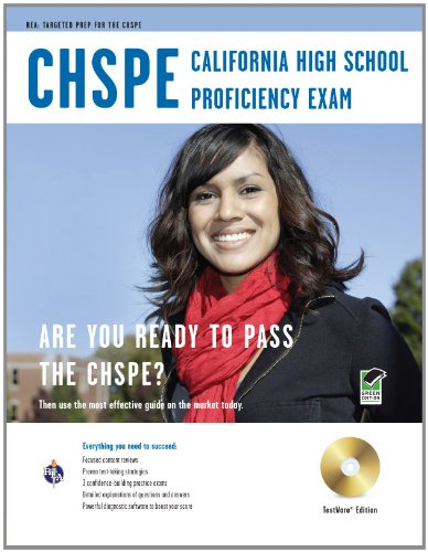 California High School Proficiency Exam (CHSPE) w/CD-ROM (California (CHSPE) Test Preparation) - Stephen Hearne; Maria Suzanne Scafuri