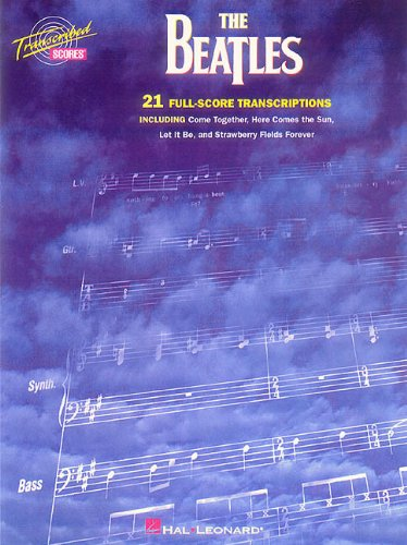 BEATLES TRANSCRIBED SCORES - The Beatles