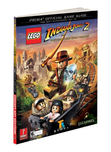 Lego Indiana Jones 2: The Adventure Continues: Prima Official Game Guide (Prima Official Game Guides) - Michael Knight