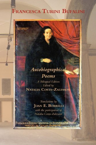 Autobiographical Poems (Via Folios) (English and Italian Edition) - Francesca Turini Bufalini