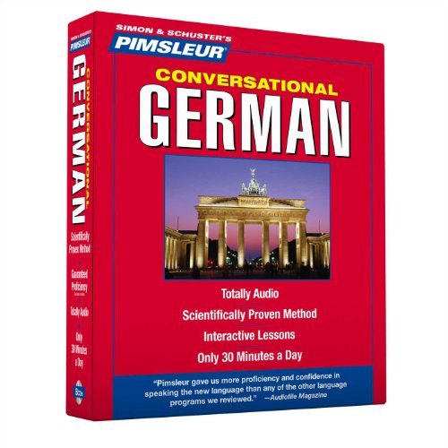Pimsleur German Conversational Course - Level 1 Lessons 1-16 CD: Learn to Speak and Understand German with Pimsleur Language Programs - Pimsleur