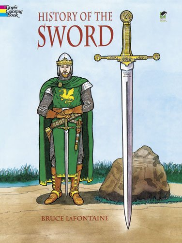 History of the Sword (Coloring Book) - Bruce LaFontaine, Coloring Books