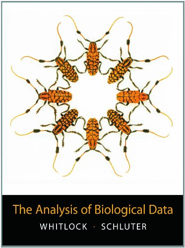 The Analysis of Biological Data - Michael C. Whitlock, Dolph Schluter
