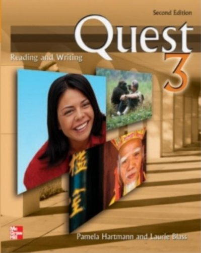 Quest Reading and Writing 3, 2nd Edition - Pamela Hartmann, Laurie Blass
