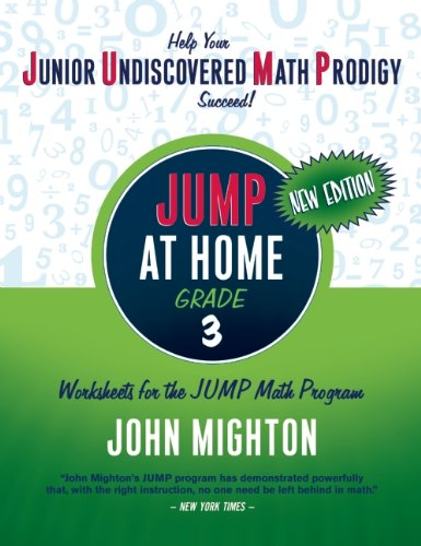 Jump at Home: Grade 3 - John Mighton
