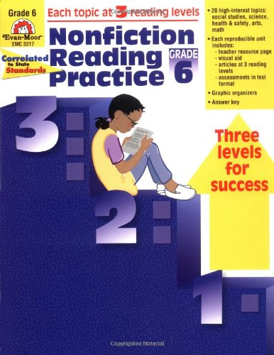 Nonfiction Reading Practice, Grade 6 - Ellen Linnihan, Evan-Moor Educational Publishers