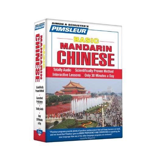 Pimsleur Chinese (Mandarin) Basic Course - Level 1 Lessons 1-10 CD: Learn to Speak and Understand Mandarin Chinese with Pimsleur Language Pr - Pimsleur