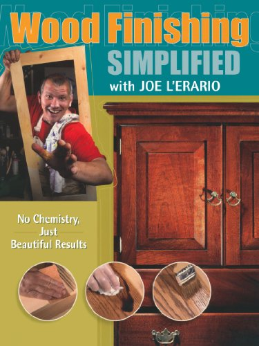 Wood Finishing Simplified: No Chemistry Just Beautiful Results (Popular Woodworking) - Joe L'Erario