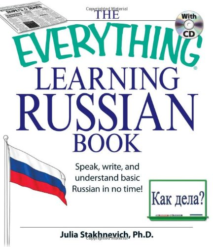 Everything Learning Russian Book With Cd - Julia Stakhnevich