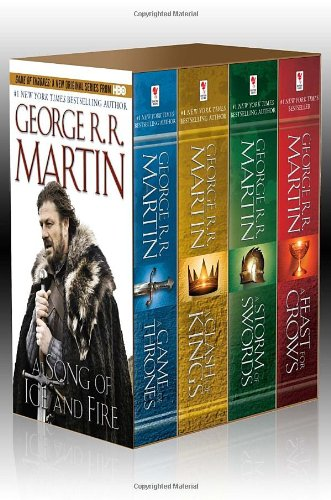 A Song of Ice and Fire, (4 Vols.): A Game of Thrones / A Clash of Kings / A Storm of Swords / A Feast for Crows - George R.R. Martin