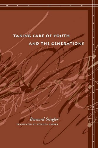 Taking Care of Youth and the Generations (Meridian: Crossing Aesthetics) - Bernard Stiegler