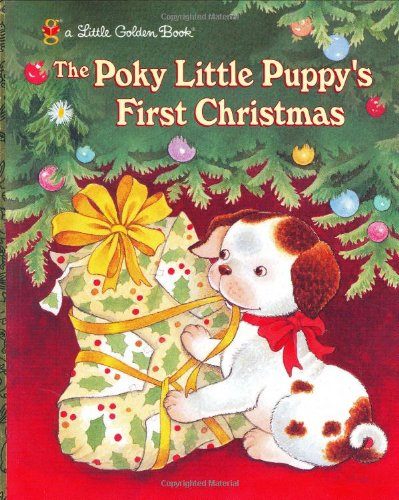The Poky Little Puppy's First Christmas (Little Golden Book) - Justine Korman