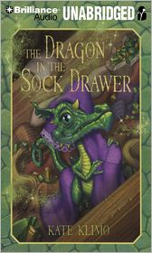 The Dragon in the Sock Drawer (Dragon Keepers Series #1) - Kate Klimo, Read by Walter M. Mayes