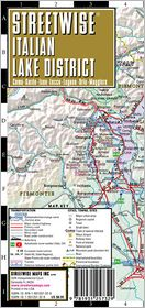 Streetwise Italian Lake District Map - Laminated Regional Map of the Italian Lake District - Folding Pocket Size Travel Map (2008) - Streetwise Maps Inc.