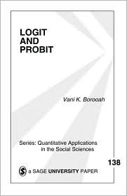 Logit and Probit: Ordered and Multinomial Models - Vani Kant Borooah, Michael S. Lewis-Beck (Introduction)