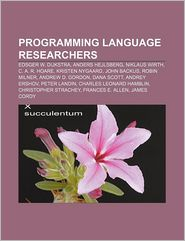 Programming language researchers: Edsger W. Dijkstra, Anders Hejlsberg, Niklaus Wirth, C.A.R. Hoare, Kristen Nygaard, John Backus - Source: Wikipedia